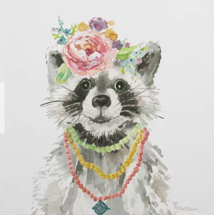 Wayfair Racoon Art